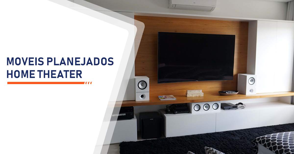 Moveis Planejados Home Theater